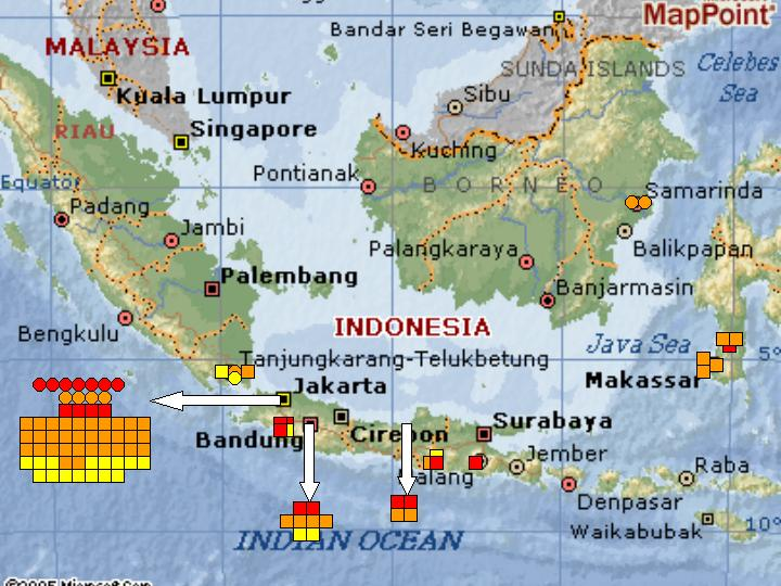 Where Is Jakarta Indonesia On a Map